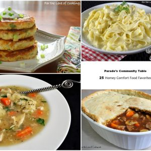 Parade's Community Table ~ 20 Homwww.fortheloveofcooking.n