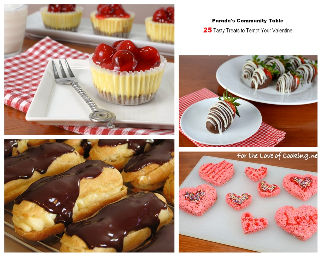 Parade's Community Table ~ 25 Tasty Treats To Tempt Your Valentine