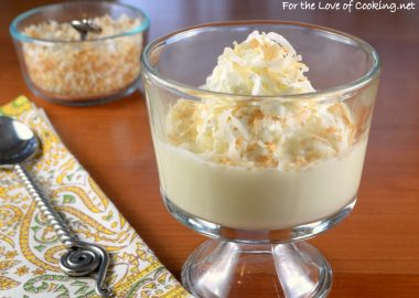 Coconut Pudding