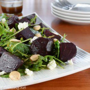 Balsamic Roasted Beet Salad
