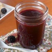 Seedless Blackberry Freezer Jam
