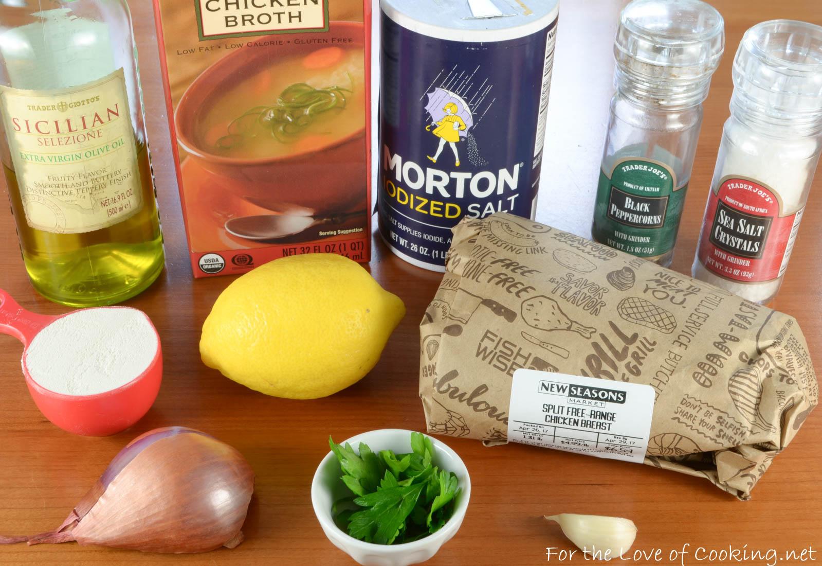 Skillet-Roasted Chicken Breasts in Lemon Sauce