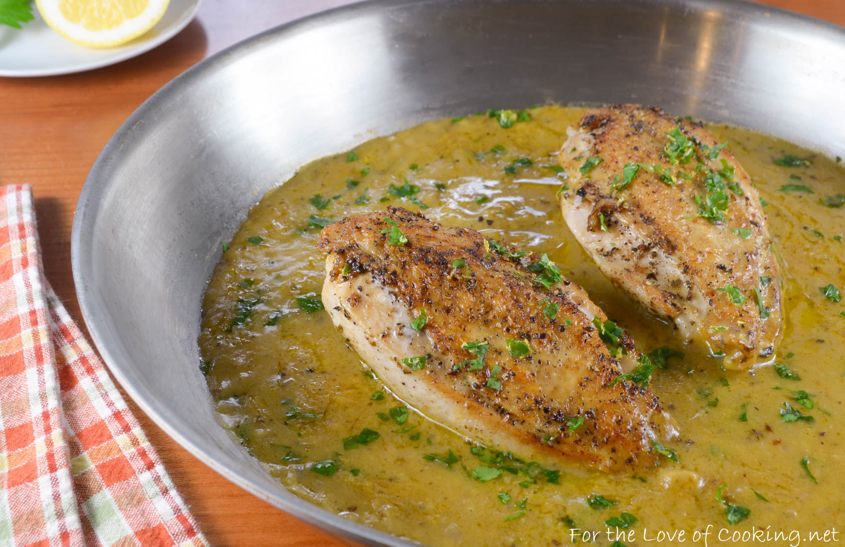 Skillet Roasted Chicken In Lemon Sauce America S Test Kitchen