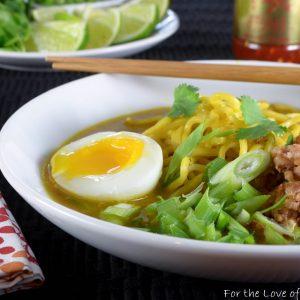 Spicy Pork Thai Coconut Ramen
