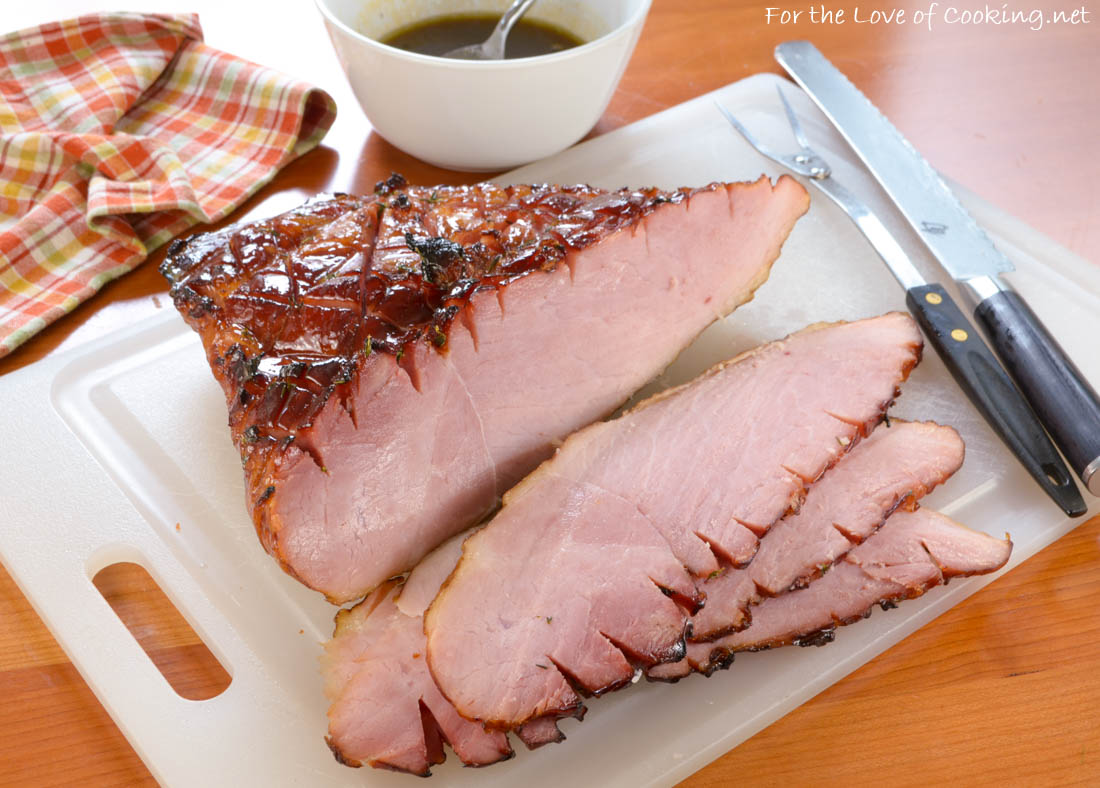 Thyme Honey Glazed Ham