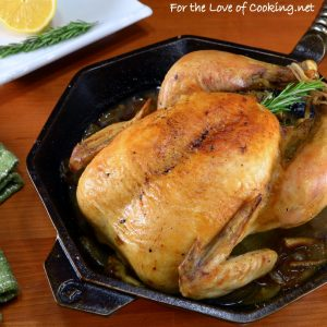 25 Whole Roasted Chicken Recipes