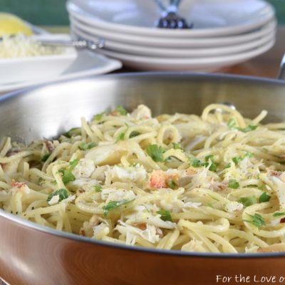 Spaghetti with Crab