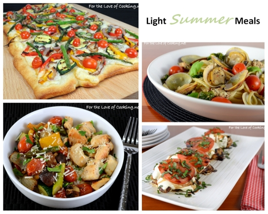 Light Summer Meals Ideas