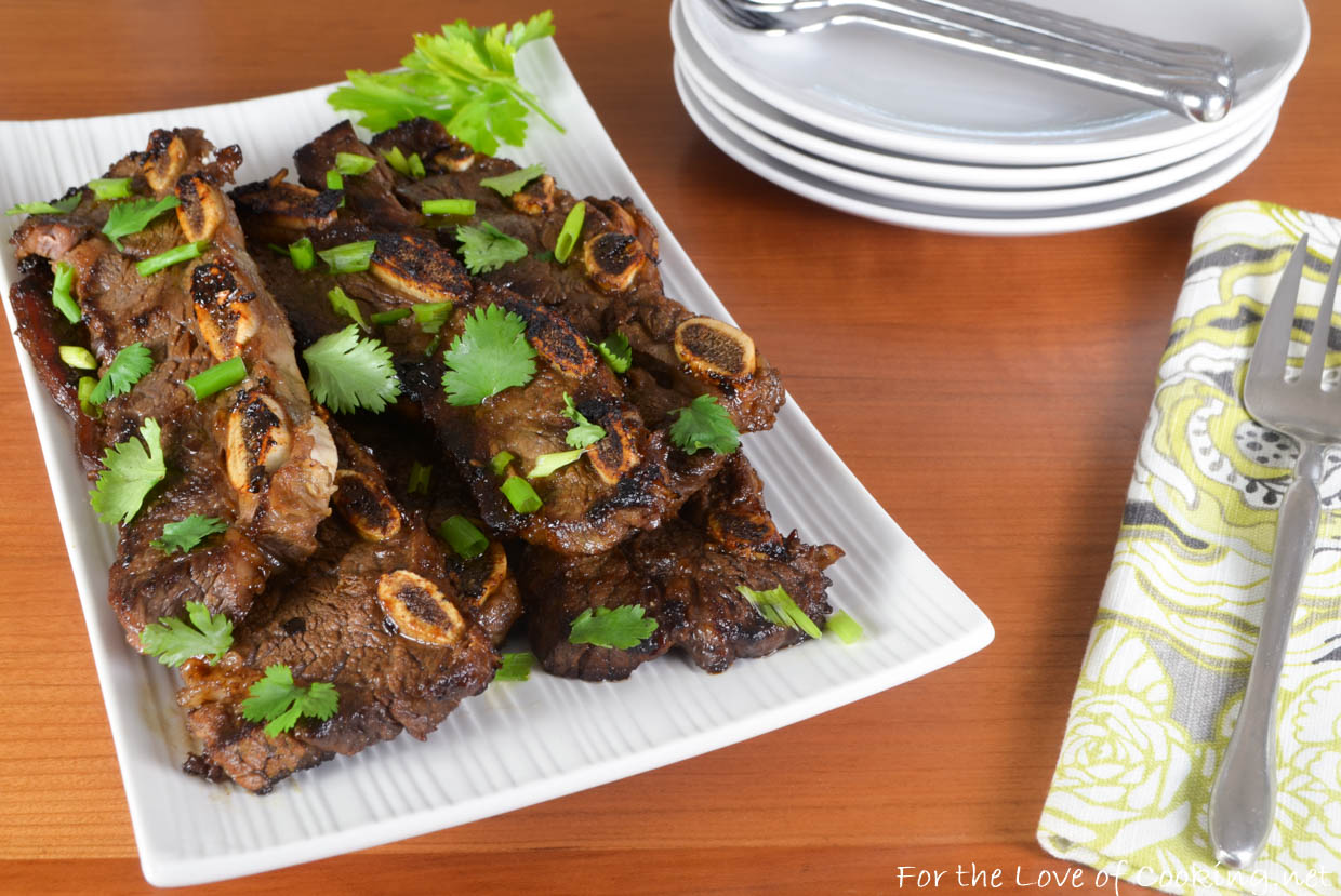 Asian lemongrass ribs