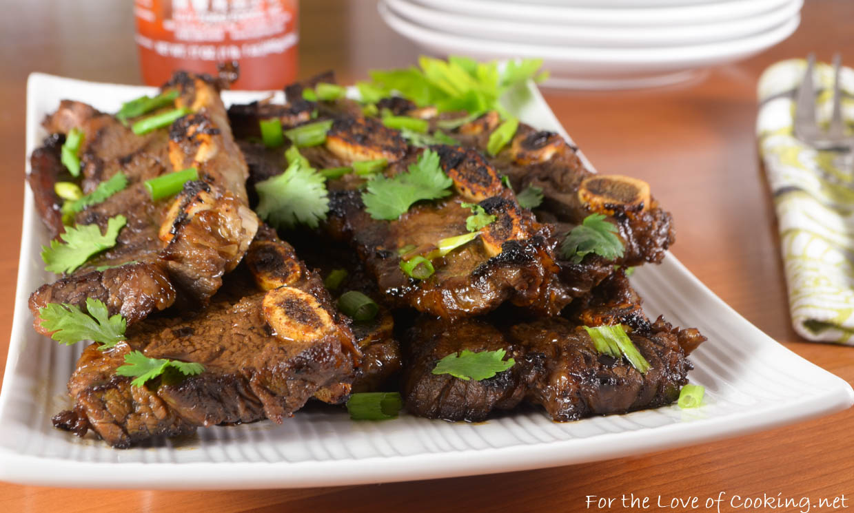 Lemongrass-Ginger Flanken Short Ribs