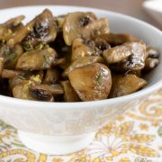 Roasted Mushrooms with Lemon and Thyme