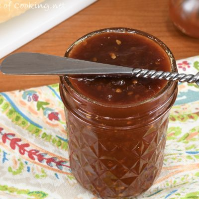 Sweet and Spicy Tomato Jam