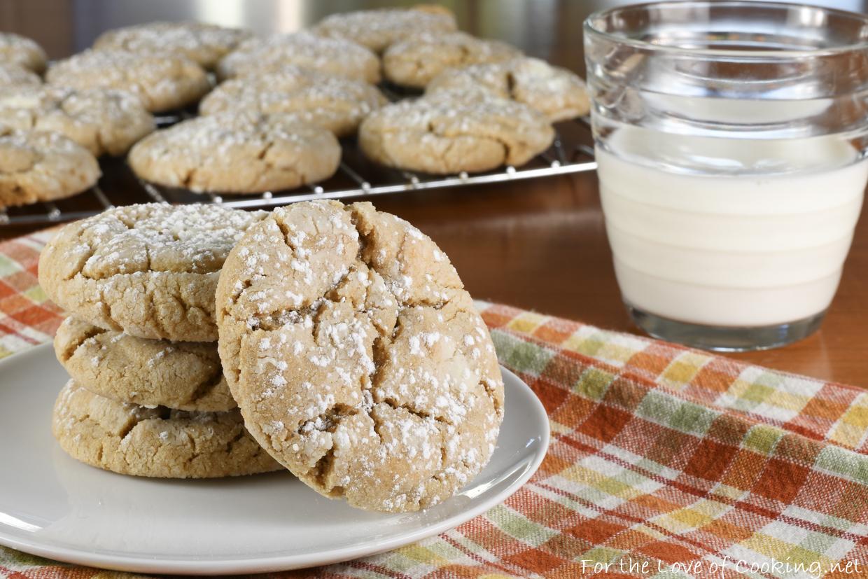 Peanut Butter Crinkle Cookies