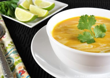 Thai Curry Butternut Squash Soup