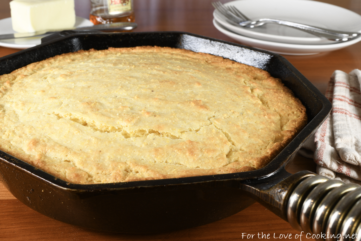 Brown Butter Cornbread