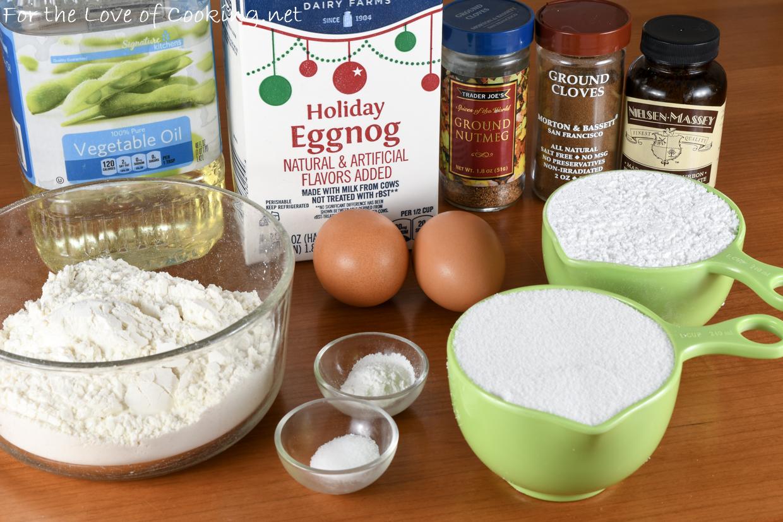 Glazed Eggnog Bread