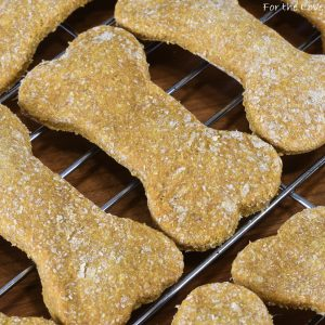 Pumpkin Banana Dog Treats