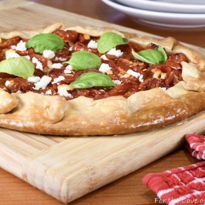 Tomato and Feta Galette