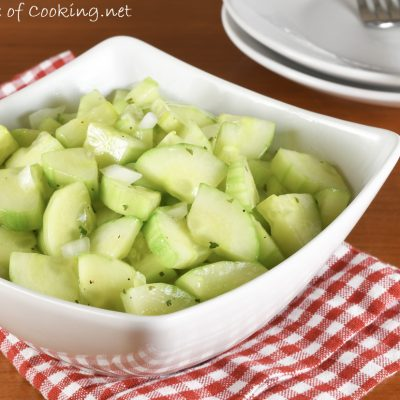 Zesty Cucumber Salad