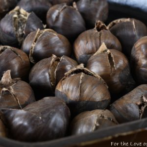 Oven Roasted Whole Chestnuts