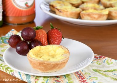 Mini Ham and Sharp Cheddar Quiche