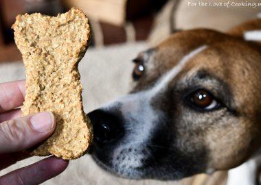 Apple Cinnamon Oatmeal Dog Treats