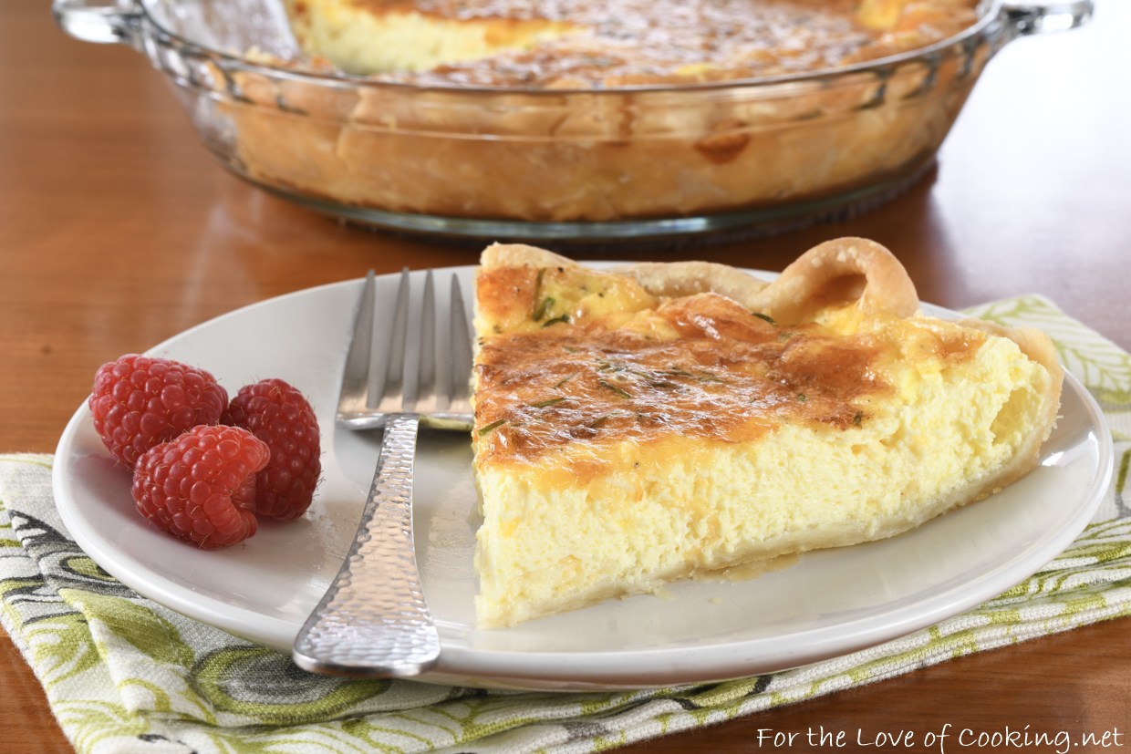Three Cheese Quiche