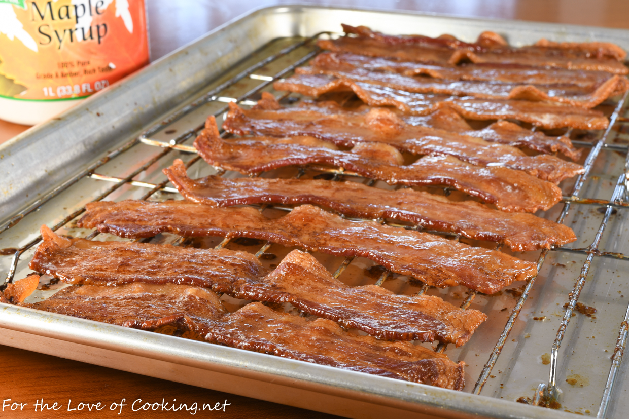 Maple-Roasted Bacon