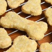 Chicken, Cheddar, and Brown Rice Dog Treats