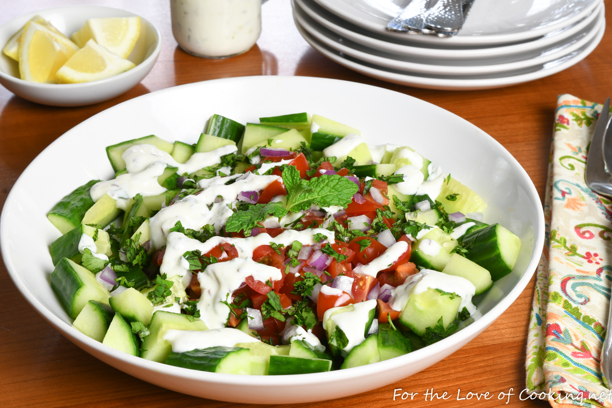 Cucumber Yogurt Raita Salad