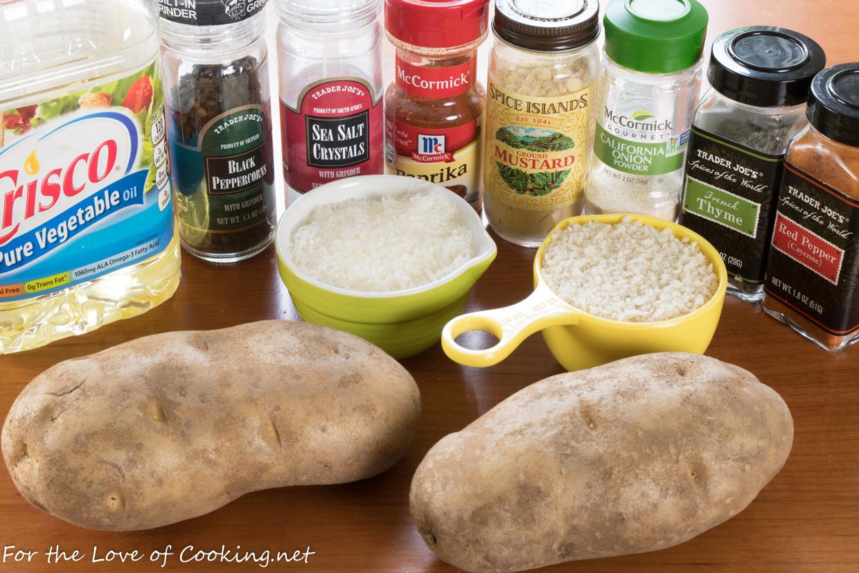 Baked Jo Jo Potatoes