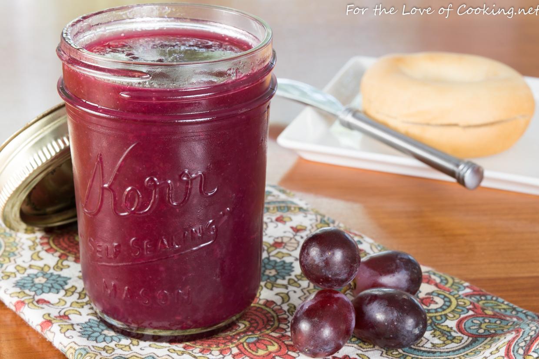 Three-Ingredient Grape Jam