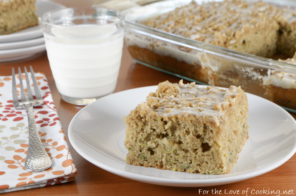 Brown Butter Zucchini Coffee Cake