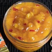 Skillet Peach Pepper Jam
