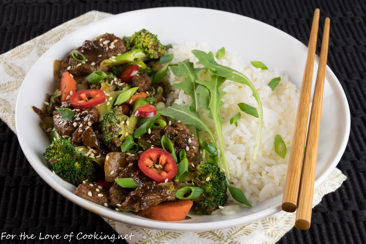 Beef Bulgogi with Vegetables
