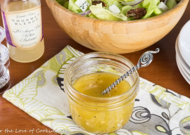 Pear Vinaigrette