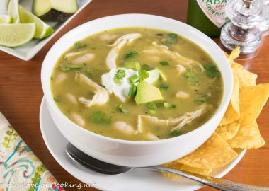 Slow-Simmered White Chicken Chili