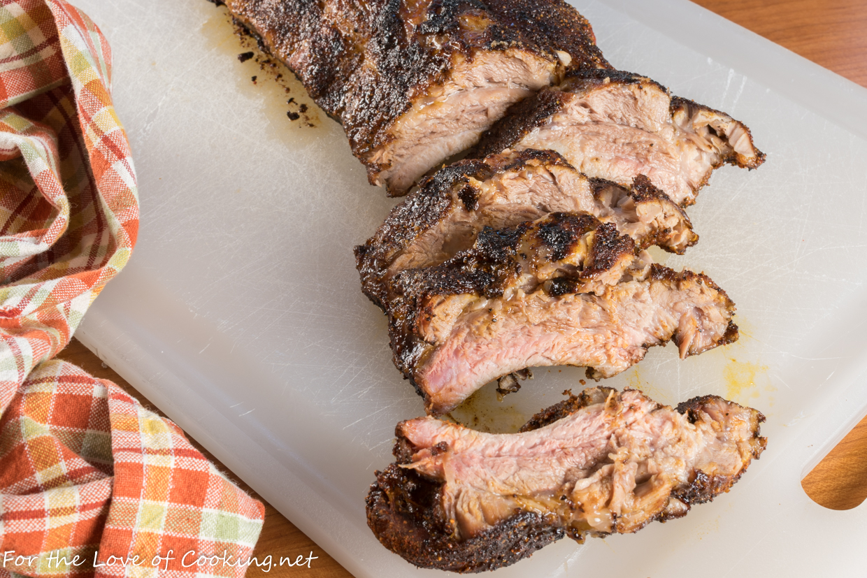 Spicy-Sweet Slow Baked Baby Back Ribs