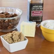 Brown Butter Pumpkin Streusel Muffins with Brown Butter Glaze
