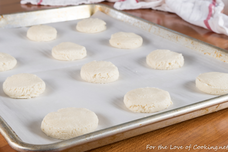 Glazed Almond Cookies