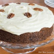 Old-Fashioned Banana Cake with Cream Cheese Frosting