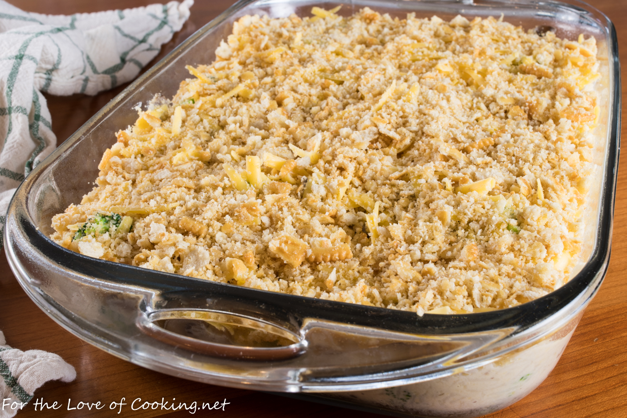 Cheesy Chicken, Broccoli, and Rice Casserole