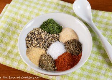 Lemon Pepper Herb Dry Rub