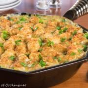 Skillet Tator Tot Chicken Pot Pie