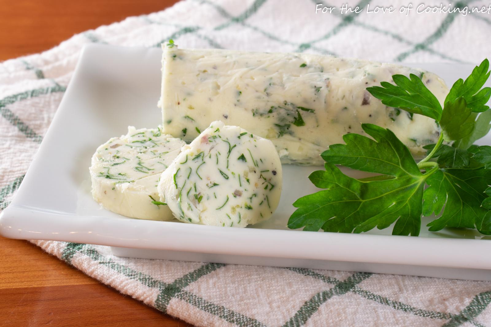 Garlic-Herb Compound Butter