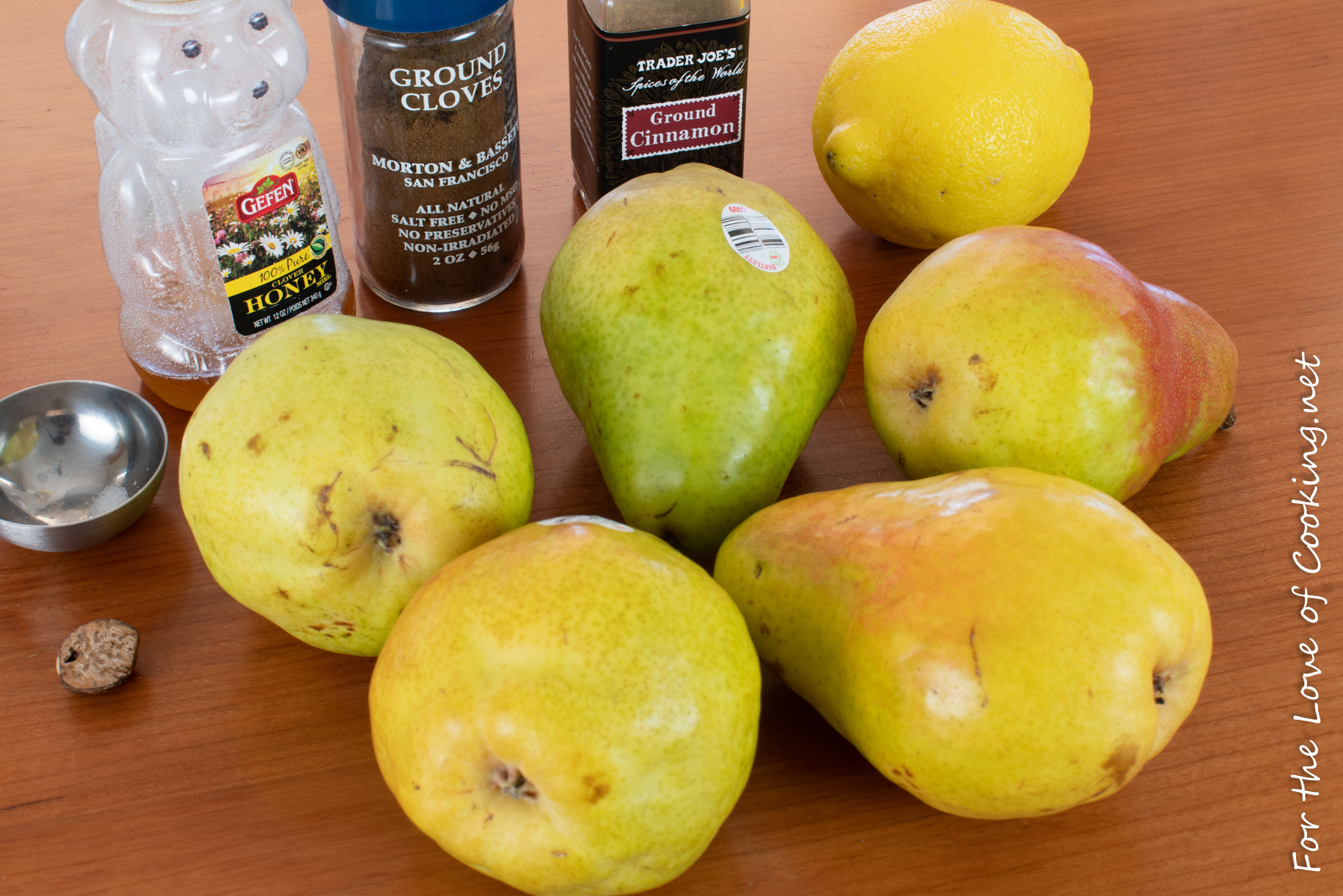 Easy Pear Butter
