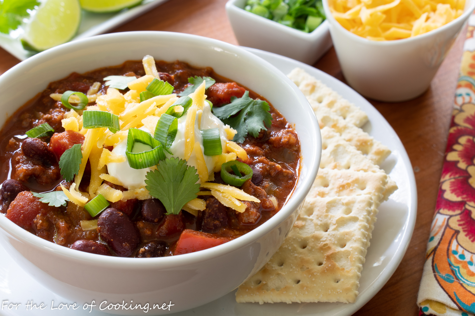 Beef Chili with Kidney Beans