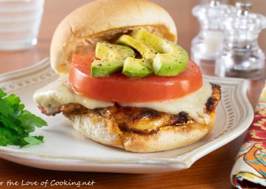 Blackened Chicken Sandwiches with Chipotle Mayonnaise and Avocado