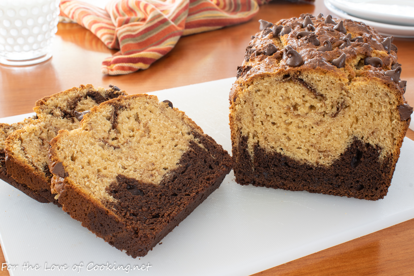 Chocolate Peanut Butter Bread