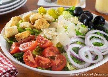 Simple Italian Salad
